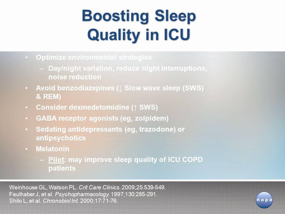 Boosting Sleep Quality in ICU