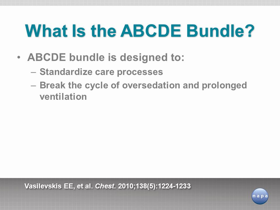 What Is the ABCDE Bundle