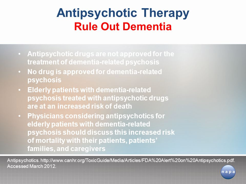 Antipsychotic Therapy