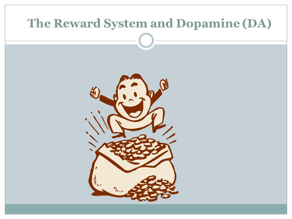 The Reward System and Dopamine (DA)