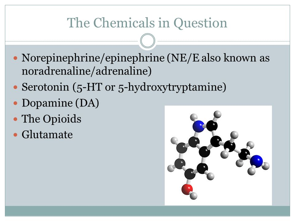 The Chemicals in Question