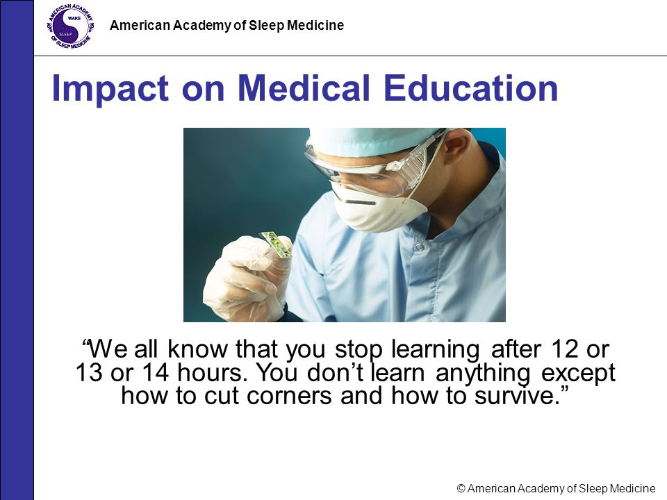 Impact on Medical Education