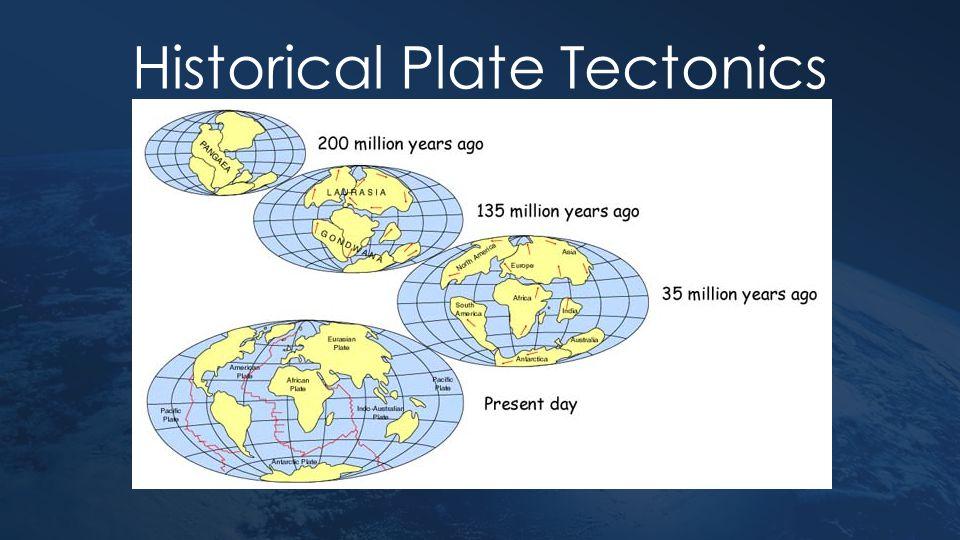 Historical Plate Tectonics