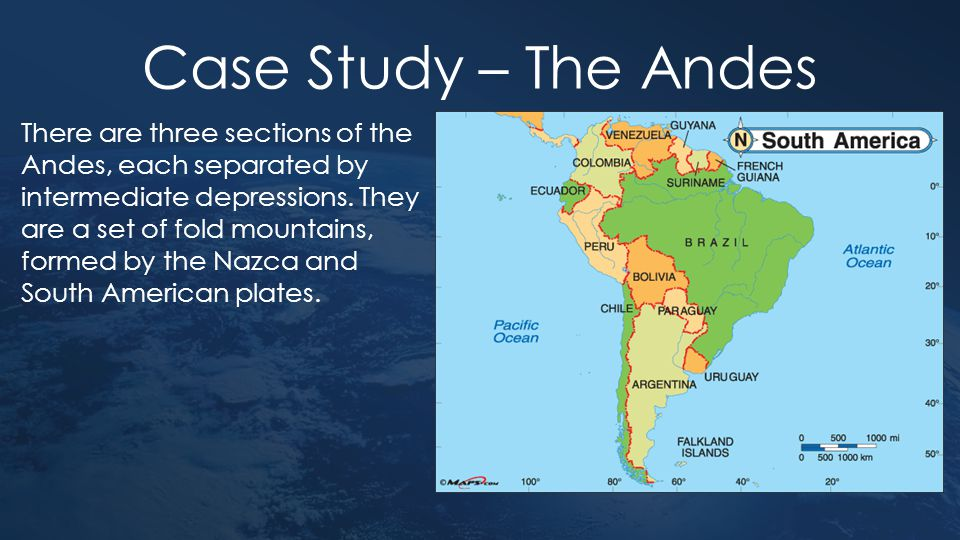 Case Study – The Andes