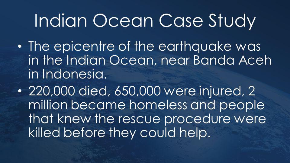 Indian Ocean Case Study