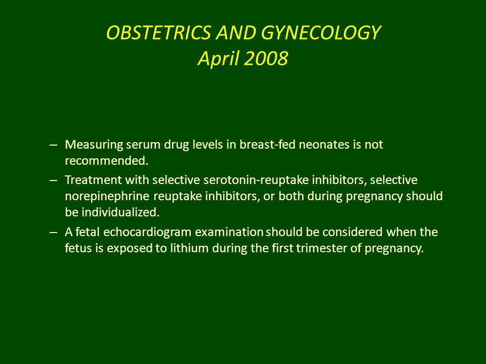 OBSTETRICS AND GYNECOLOGY April 2008