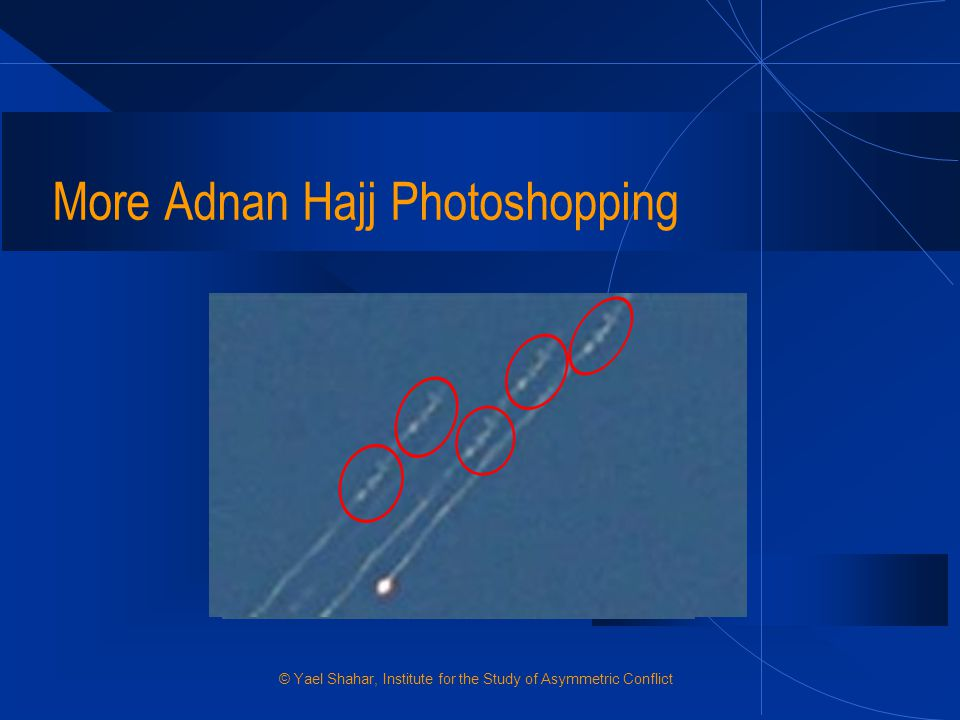 More Adnan Hajj Photoshopping