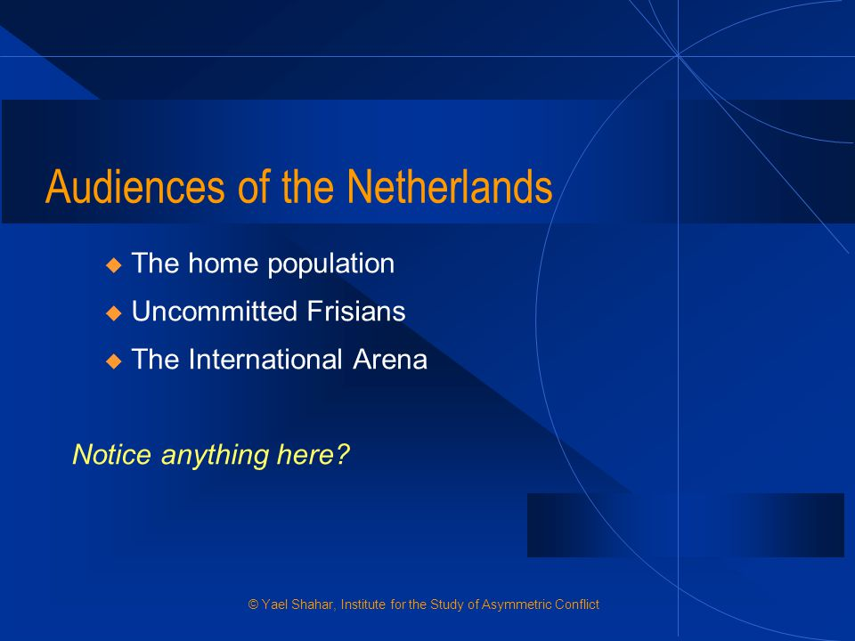 Audiences of the Netherlands