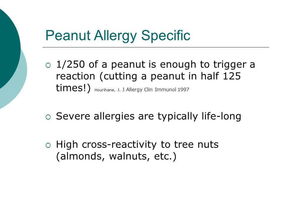 Peanut Allergy Specific