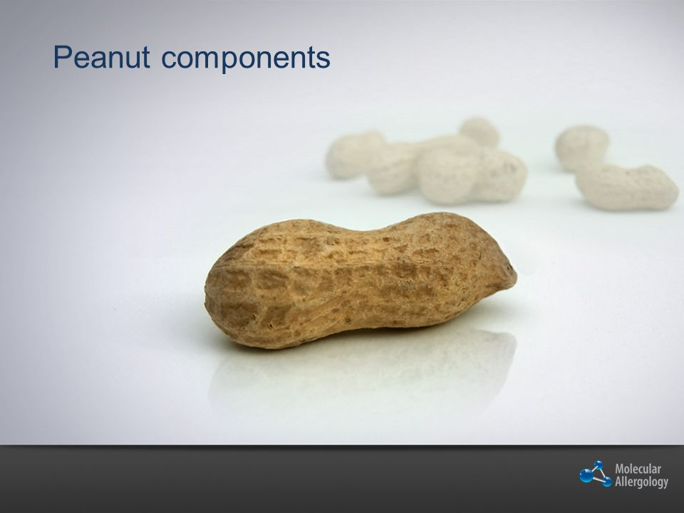 Peanut components