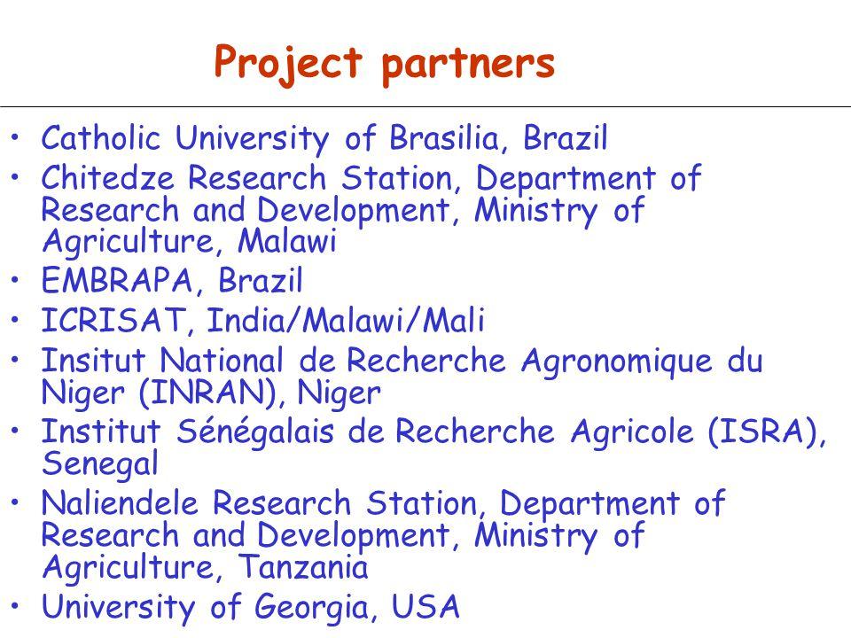 Project partners Catholic University of Brasilia, Brazil