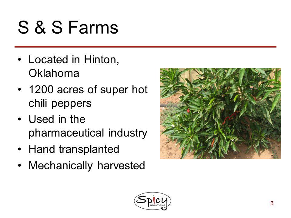S & S Farms Located in Hinton, Oklahoma