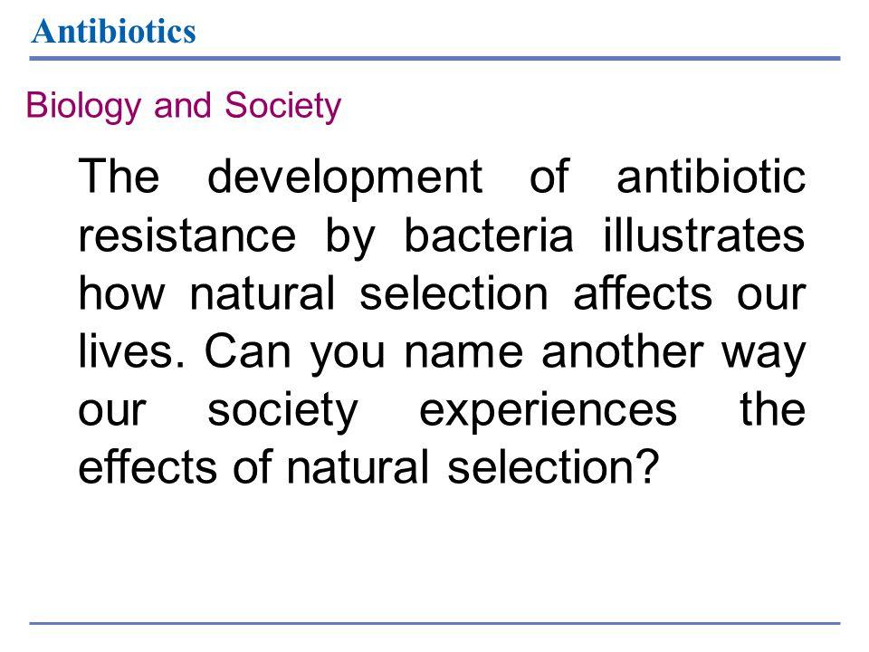 Antibiotics Biology and Society.