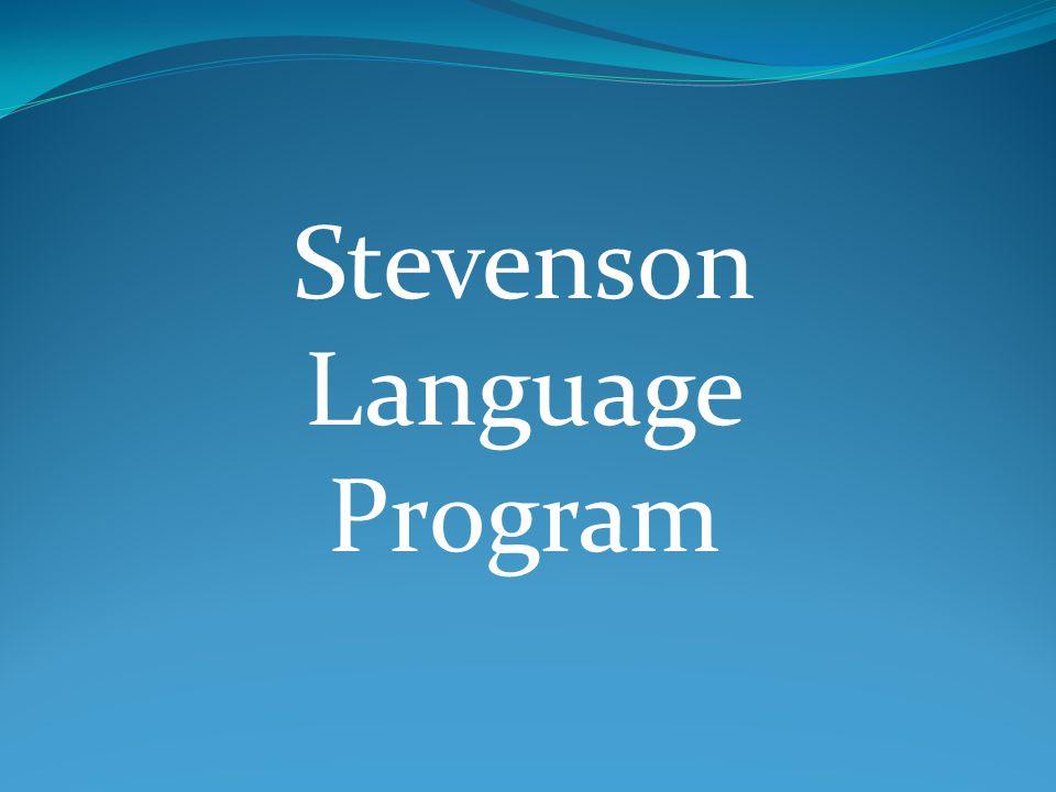 Stevenson Language Program