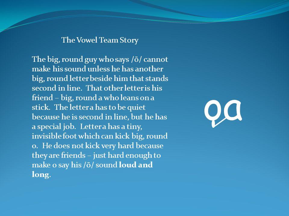 The Vowel Team Story
