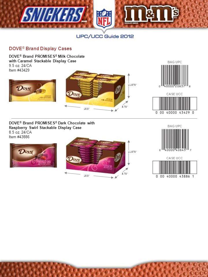 DOVE® Brand Display Cases