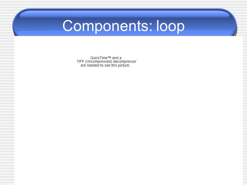 Components: loop