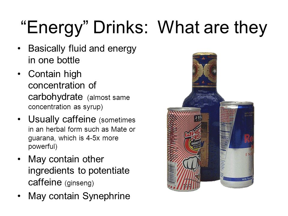 Energy Drinks: What are they