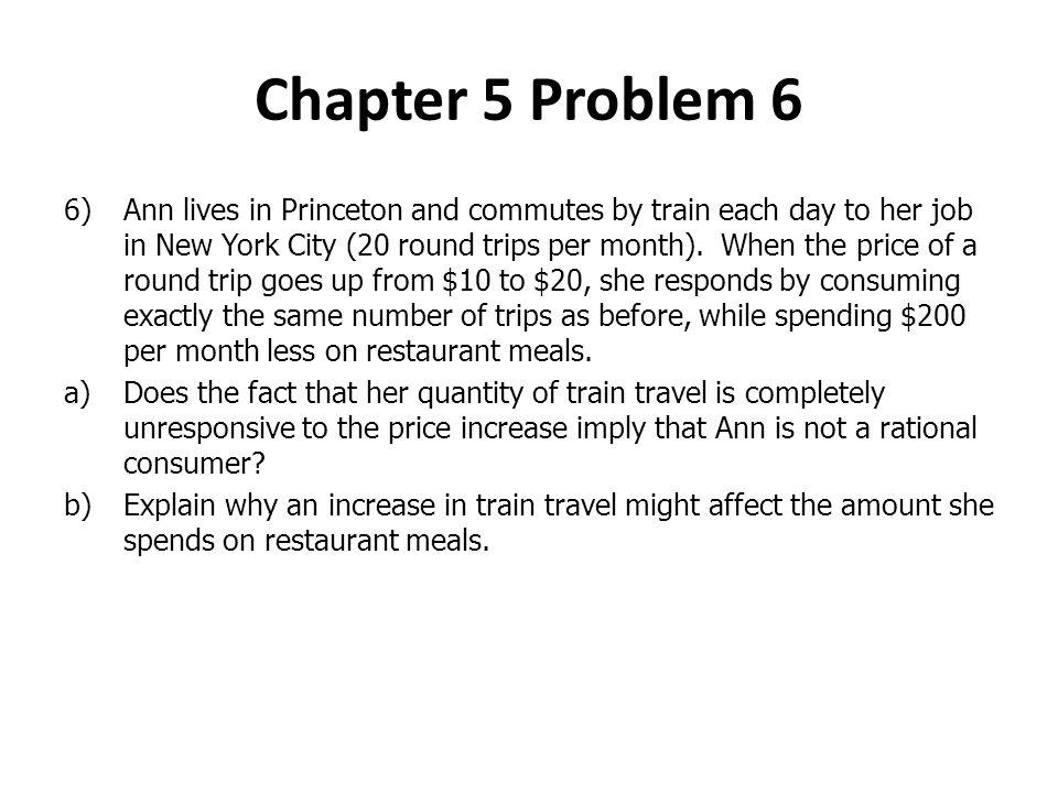 Chapter 5 Problem 6