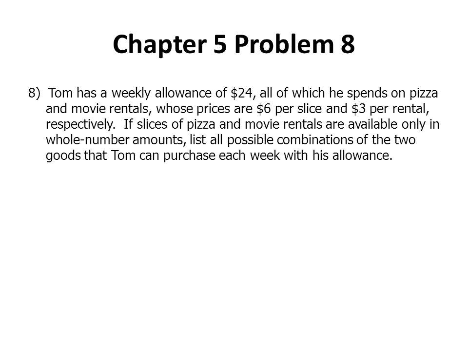 Chapter 5 Problem 8