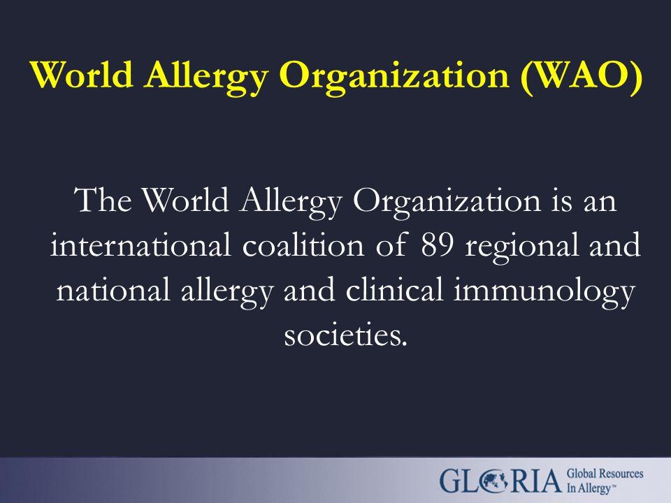 World Allergy Organization (WAO)