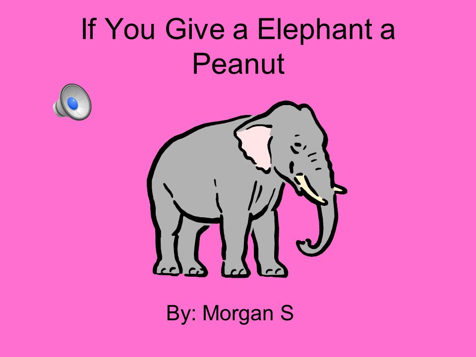If You Give a Elephant a Peanut