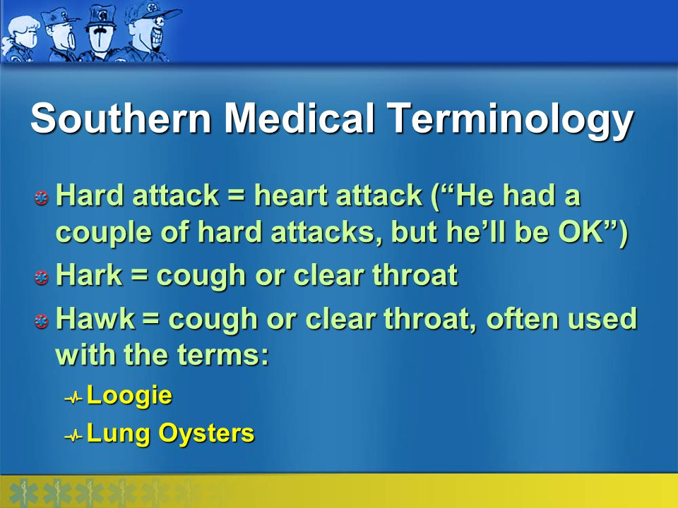Southern Medical Terminology