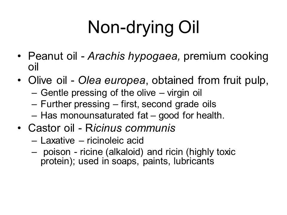 Non-drying Oil Peanut oil - Arachis hypogaea, premium cooking oil