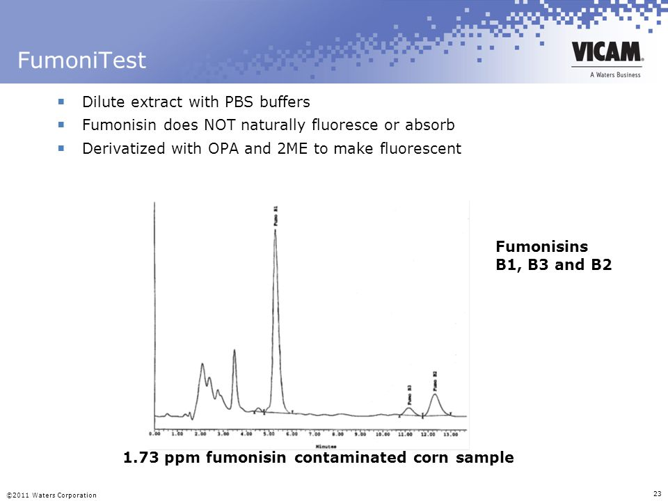 FumoniTest Dilute extract with PBS buffers