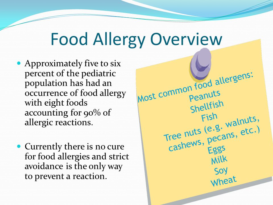 Food Allergy Overview