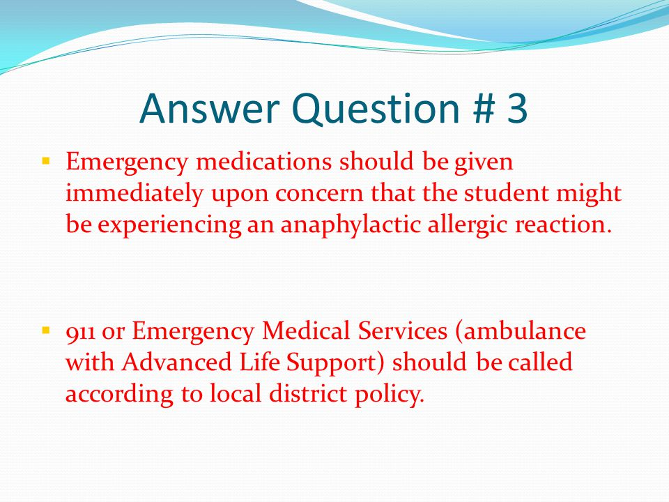 Answer Question # 3