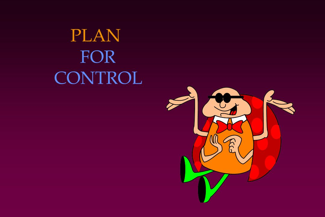 PLAN FOR CONTROL
