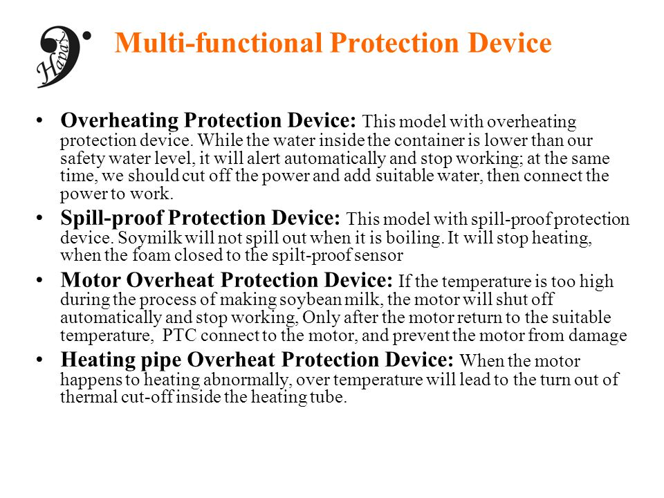 Multi-functional Protection Device