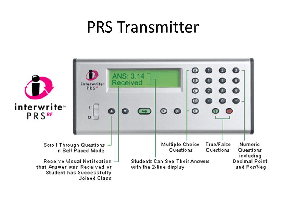 PRS Transmitter