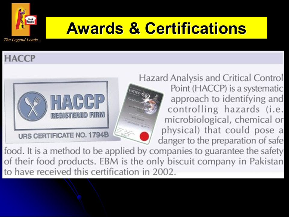 Awards & Certifications