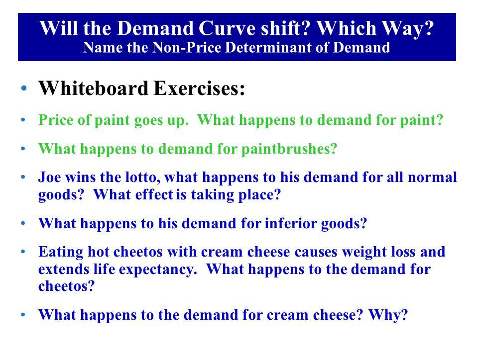 Whiteboard Exercises: