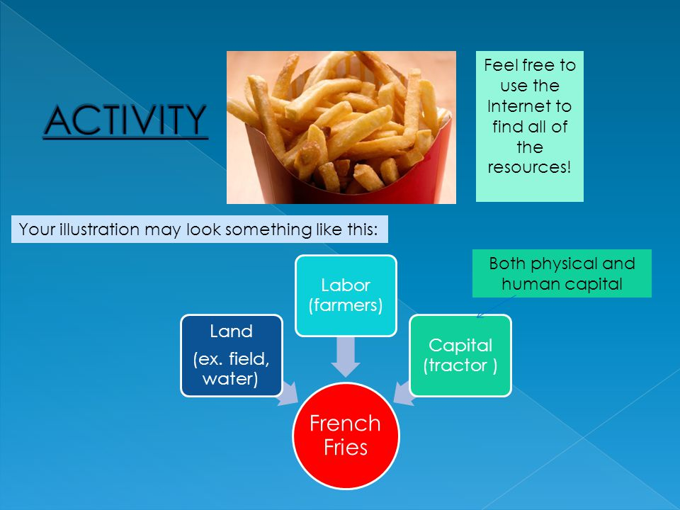 Factors of Production: Fast Food Fries