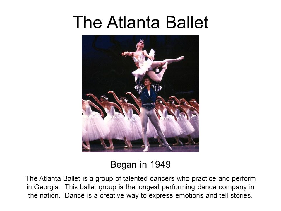 The Atlanta Ballet Began in 1949