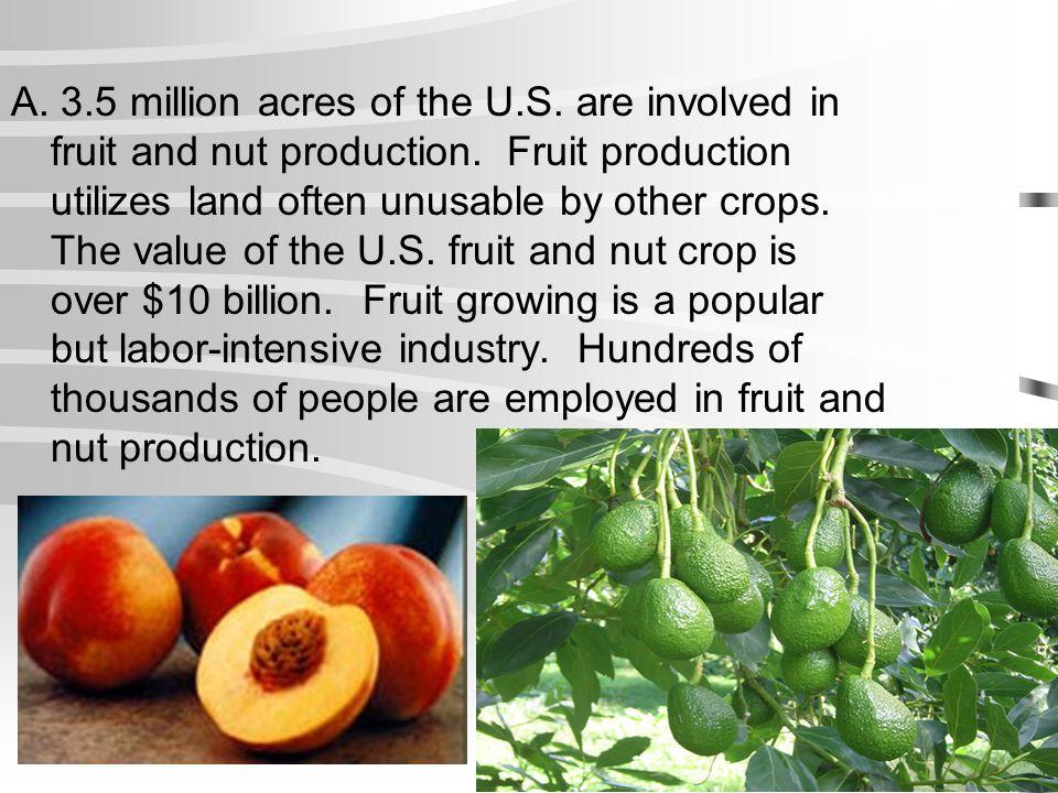 A. 3. 5 million acres of the U. S