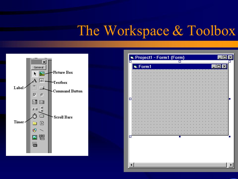 The Workspace & Toolbox