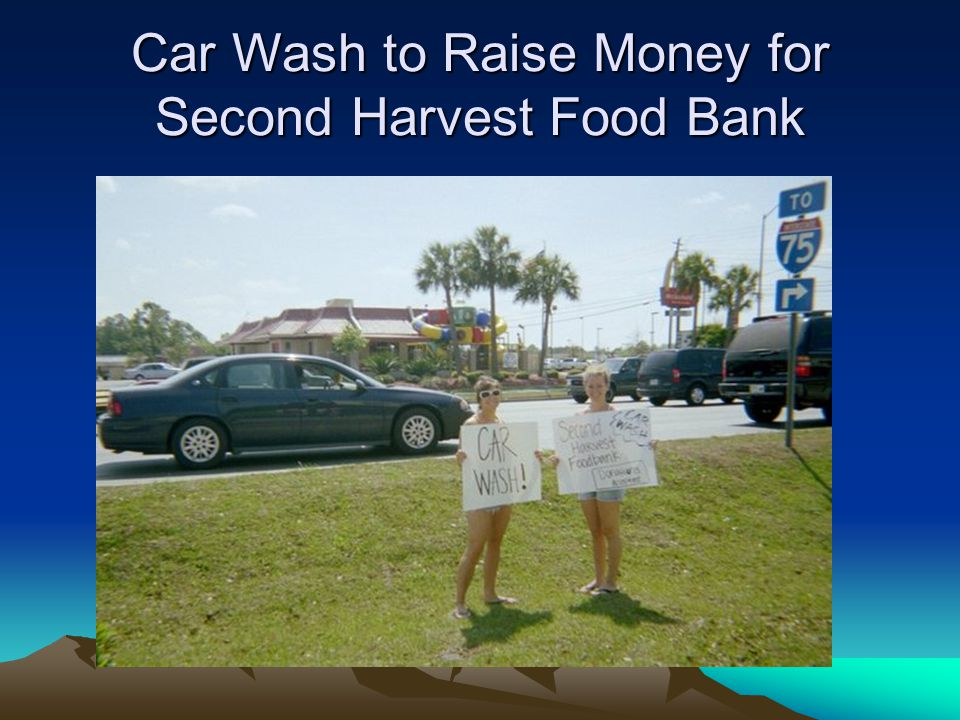 Car Wash to Raise Money for Second Harvest Food Bank