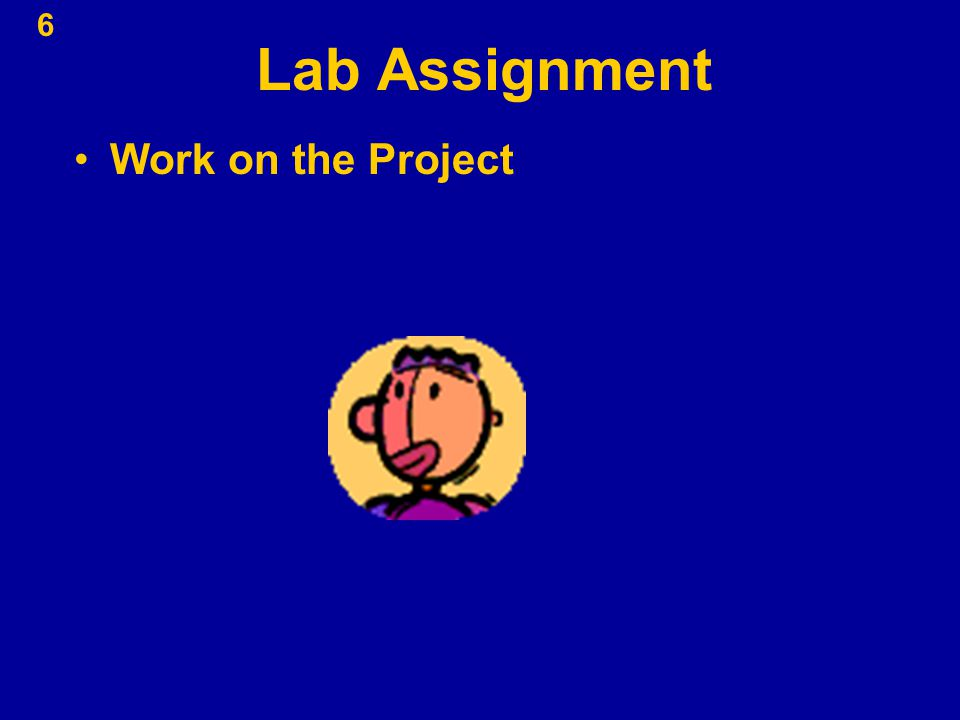 Lab Assignment Work on the Project