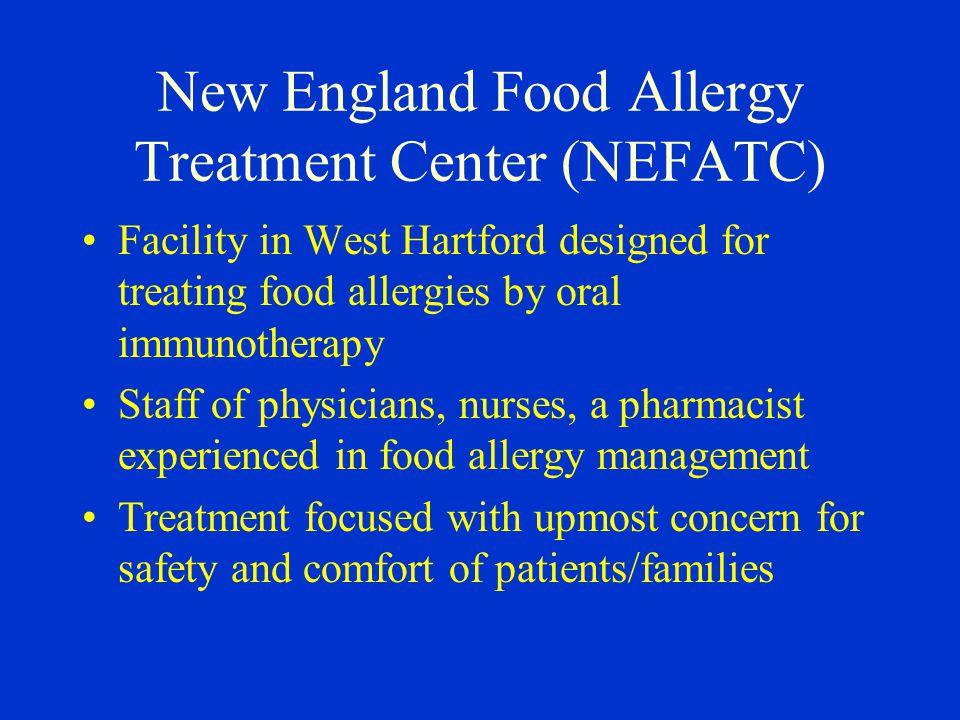 New England Food Allergy Treatment Center (NEFATC)