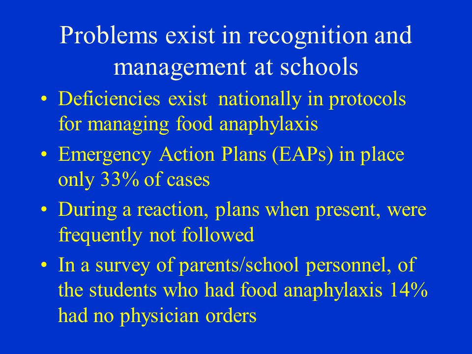 Problems exist in recognition and management at schools