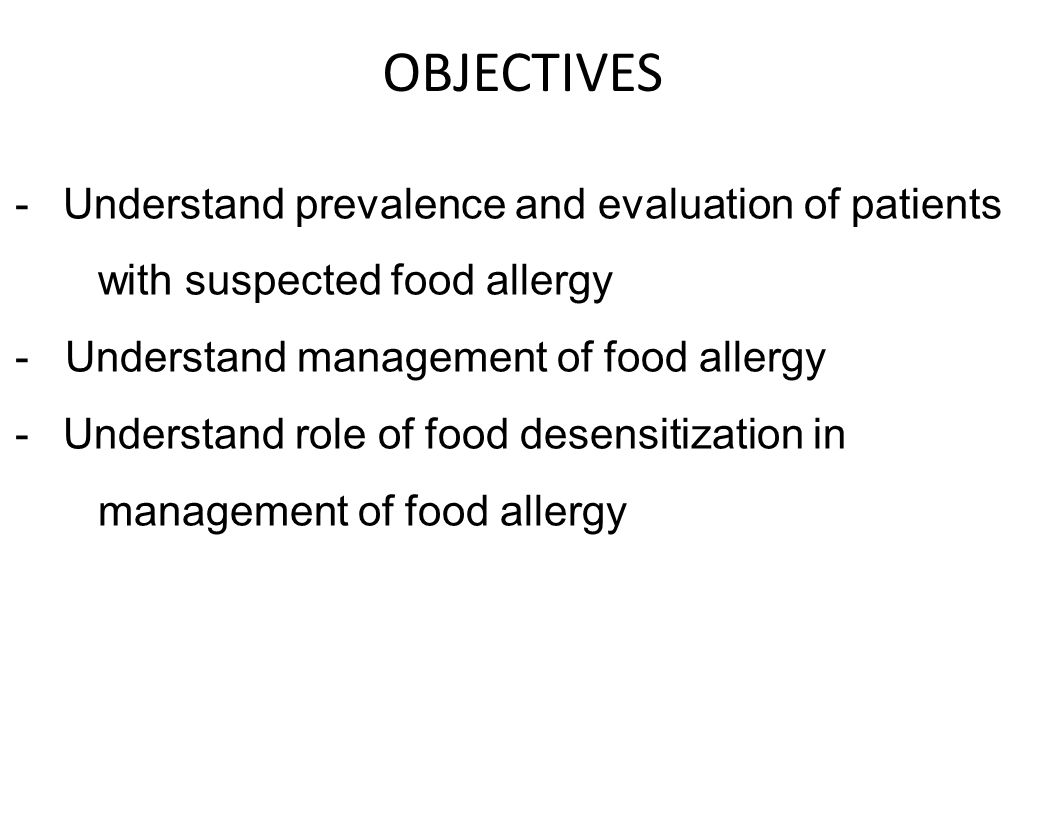 OBJECTIVES Understand prevalence and evaluation of patients