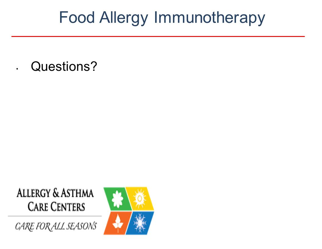 Food Allergy Immunotherapy