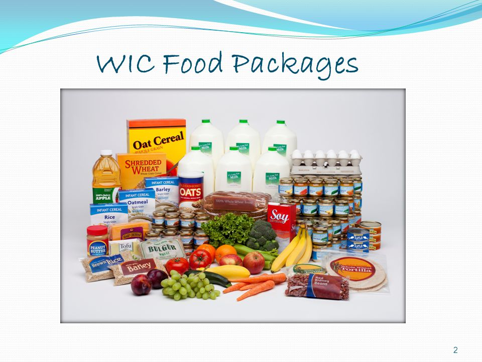 WIC Food Packages