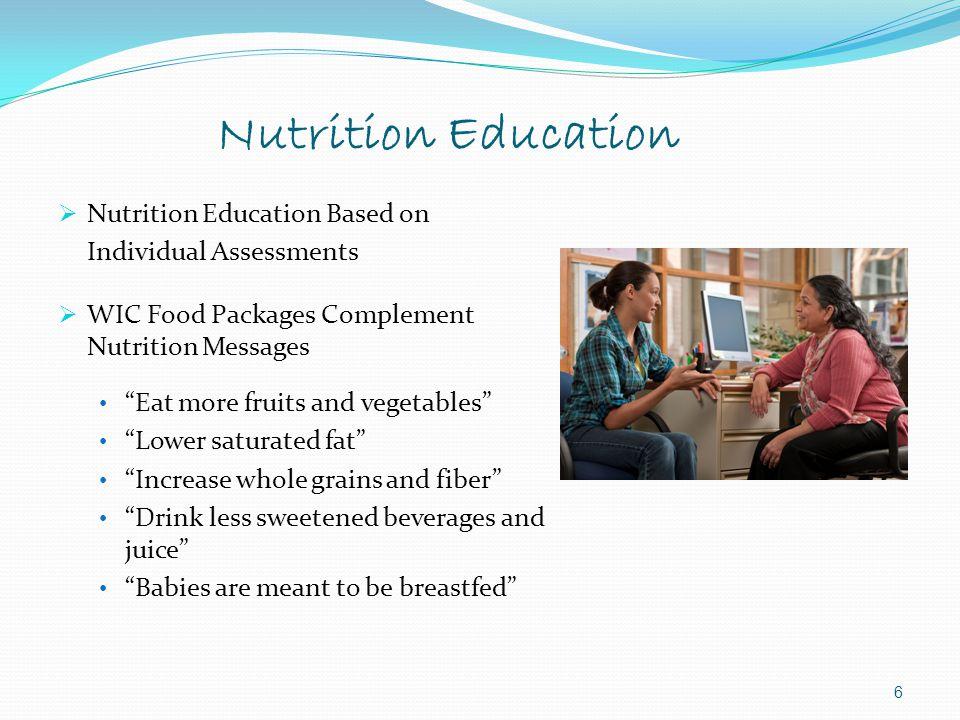 Nutrition Education Nutrition Education Based on