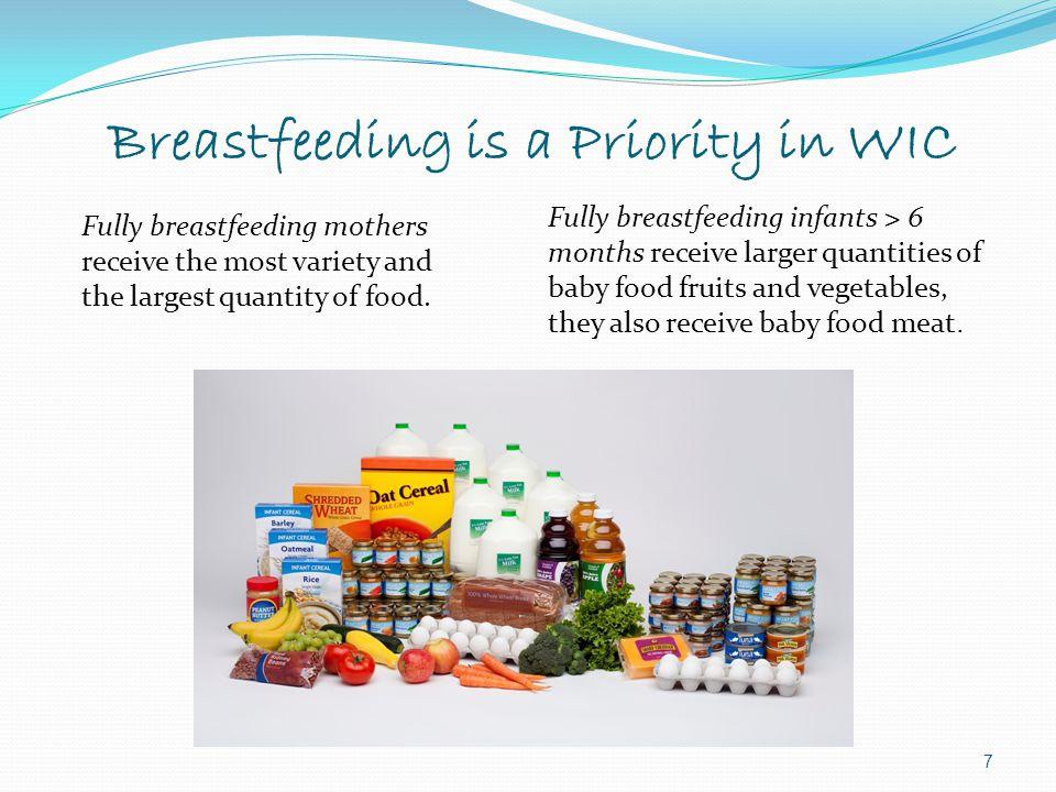 Breastfeeding is a Priority in WIC