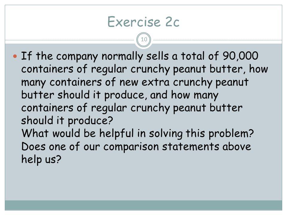 Exercise 2c